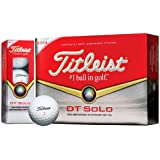 Titleist 2014 DT Solo Golf Balls (1 x Dozen Box) White