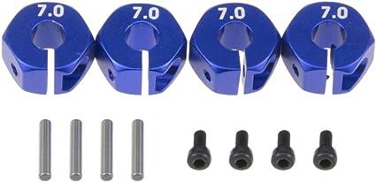 12mm Wheel Hex Mount Pin 1//10 Blue Tamiya