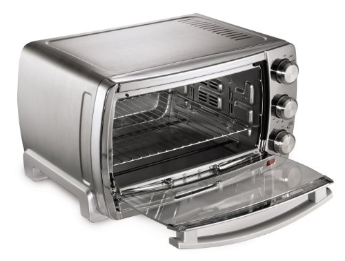Oster Large Convection Toaster Oven Brushed Chrome