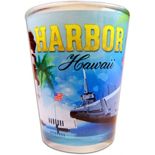 Sublimation Pearl Harbor Shot Glass