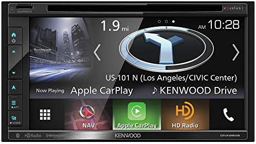 Kenwood Excelon DNX694S In-Dash Navigation with 6.8 Touchscreen Display