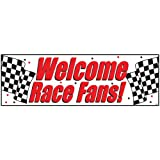 racing party supplies - Creative Converting 291724 Welcome Race Fans