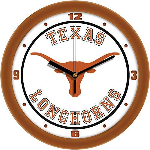 SunTime Texas Longhorns - Weathered Wood Wall Clock ()