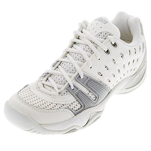 - Prince Junior's T22 Tennis Shoes (White/Grey) (3.5 - US)