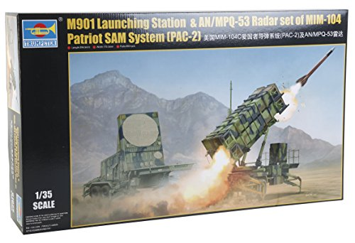 - 1/35 Trumpeter M901 Patriot SAM Launching Station & AN/MPQ53 Radar Set of MIM104 Patriot SAM System