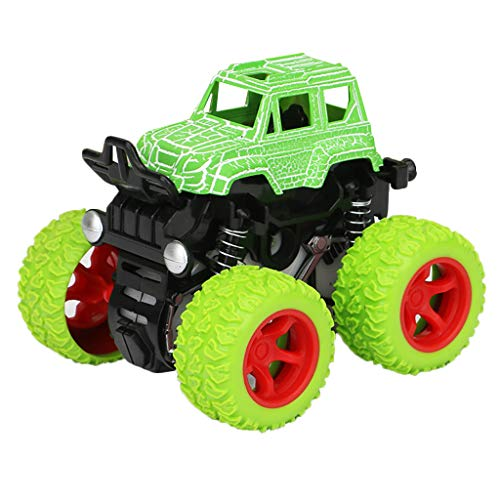 UMFunInertia Four-Wheel Drive Off-Road Vehicle Simulation Model Toy Baby Car (Green) ()