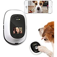 PetChatz HD & PawCall Bundle Two-Way Audio/Video System that Dispenses Treats, Scents and Provides Motion/Noise Sensing. Brain games and call mode.