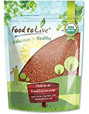 Organic Red Quinoa by Food to Live (Kosher) - 1 Pound