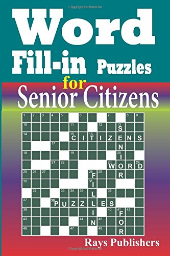Word Fill Puzzles Senior Citizens product image