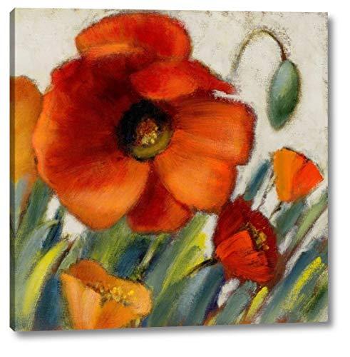 Poppy Splendor Square II by Lanie Loreth - 19