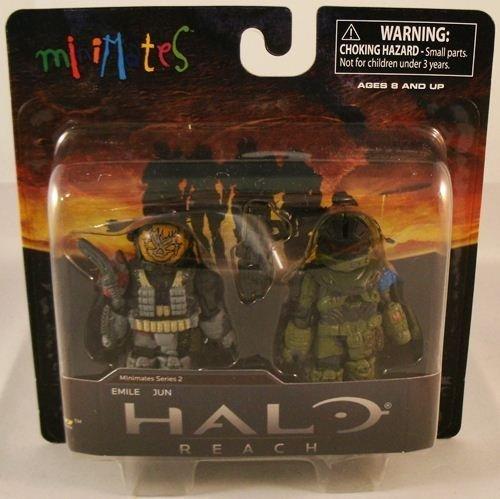 - Halo Minimates Mini Figure 2Pack Emile Jun