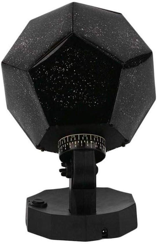 TYUIO La estrella del proyector ligero, bricolaje Proyección noche ...
