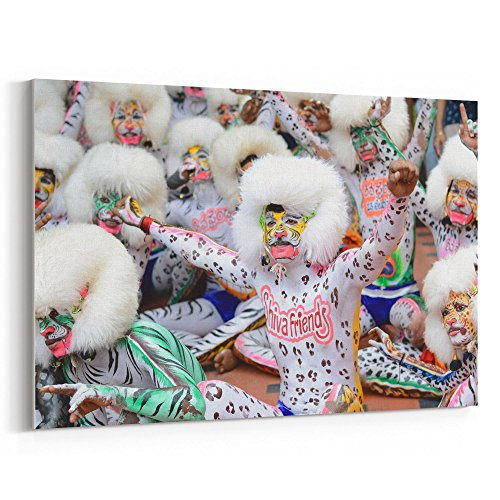 Westlake Art Celebration Close-Up - Canvas Print Wall Art - By Canvas Stretched Gallery Wrap Modern Picture Photography Artwork - Ready to Hang 12x18 Inch (Bay To Breakers Costumes)