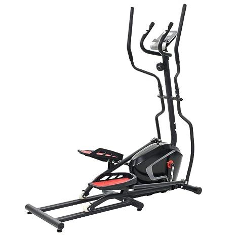 Fitness & Jogging Crosstrainer vidaXL Crosstrainer XL 18kg Drehmasse Puls Ellipsentrainer Ergometer Fitness