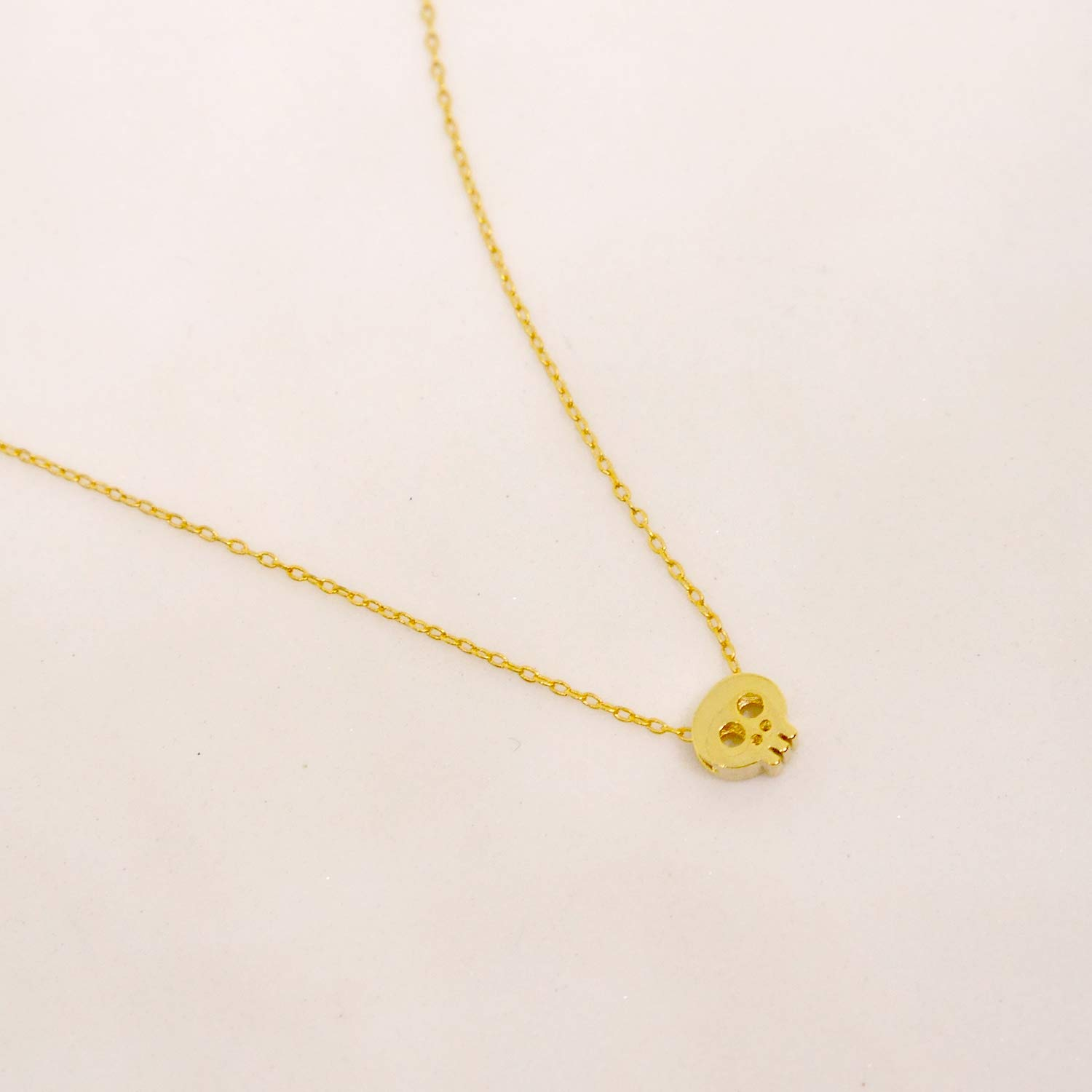 17 Length Be Badass Everyday Gold Plated Necklace