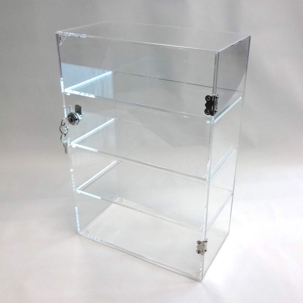 Acrylic Lucite Countertop Display Case Showcase Box Cabinet 12'' X 6'' X 16'' by Marketing Holders (Image #6)