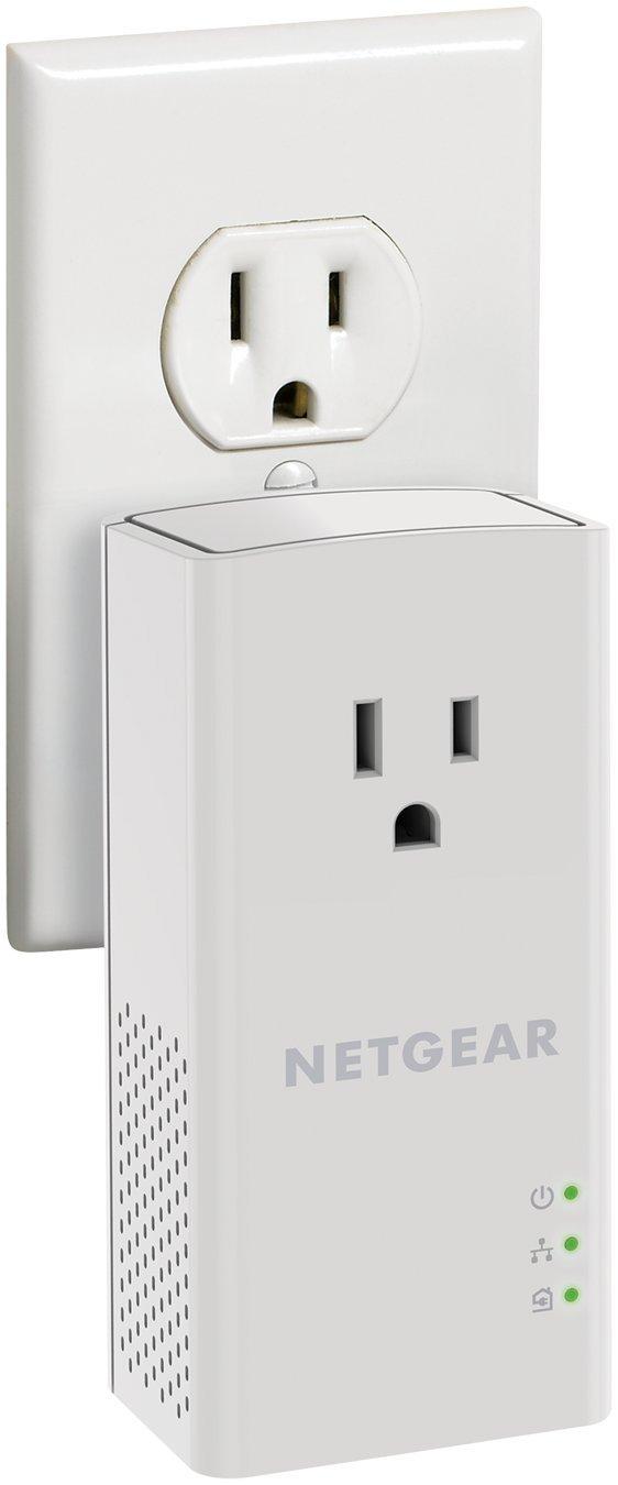 NETGEAR PowerLINE 1200 Mbps, 1 Gigabit Port with Pass-Through, Extra Outlet (PLP1200-100PAS) by NETGEAR (Image #8)