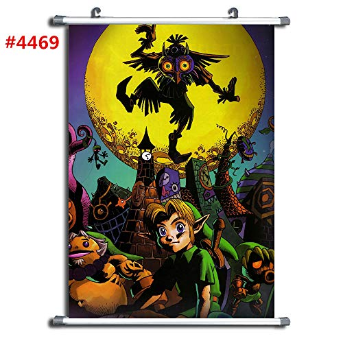 4469 The Legend of Zelda Anime Manga Wall Poster Scroll Room