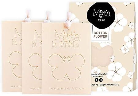 Marta La Farfalla Duftstäbchen Für Schränke Und Schubladen 3er Set Cotton Flower