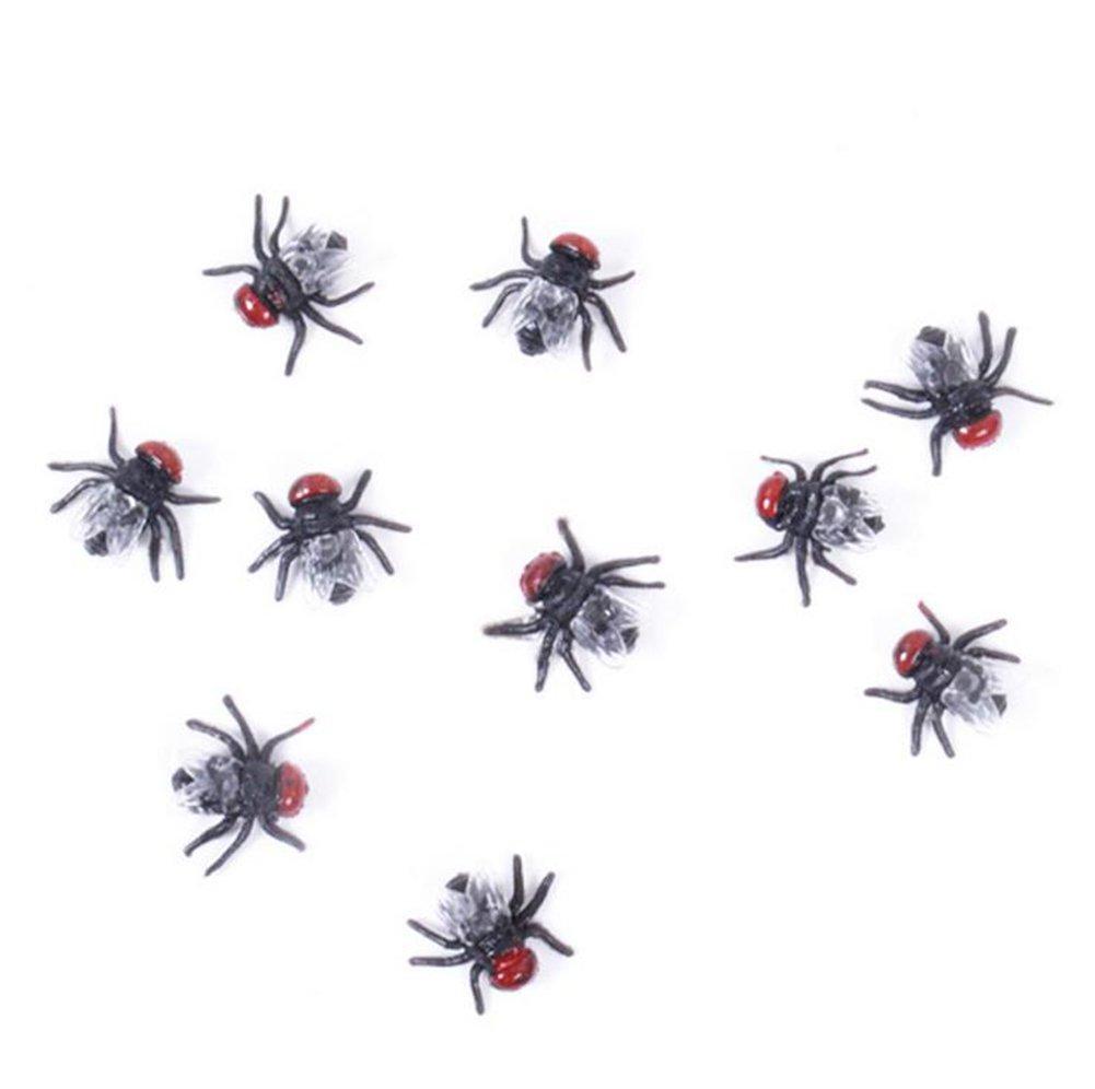 Emorias 5 Pcs Tricky Broma Juguetes Falso Cucaracha Juguetes de decoración de Halloween Carnival Toys