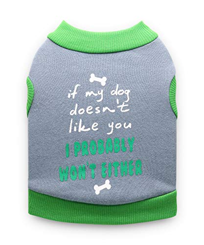 DroolingDog Pet Dog Fleece Vest Puppy Shirts for Small Dogs
