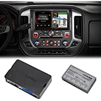 Alpine X110-SRA 10 Navigation system, KAC-001 Accessory Controller & KCX-630HD HDMI Switcher For 2014+ GMC Sierra