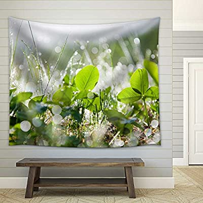 Marvelous Object of Art, The Morning Dew Fabric Wall, Made With Love