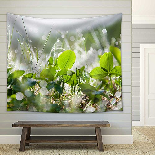 The Morning Dew Fabric Wall
