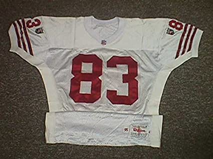 wholesale dealer ecf97 7ab7a J.J. Stokes. San Francisco 49ers 1995 Game Worn Jersey at ...