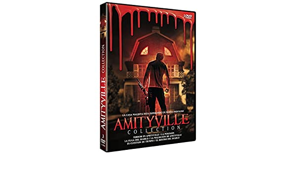Amazon.com: The Amityville Horror + Amityville II: The Possession + Amityville: The Evil Escapes + The Amityville Curse + Amityville: Its About Time: James ...