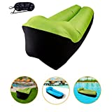 Inflatable Lounger Air Sofa Hammock, KeepSa Portable,Water Proof& Anti-Air Leaking Design-Ideal Air Sofa Couch Lazy Lounge for Backyard Lakeside Beach Traveling Camping Picnics & Music Festivals