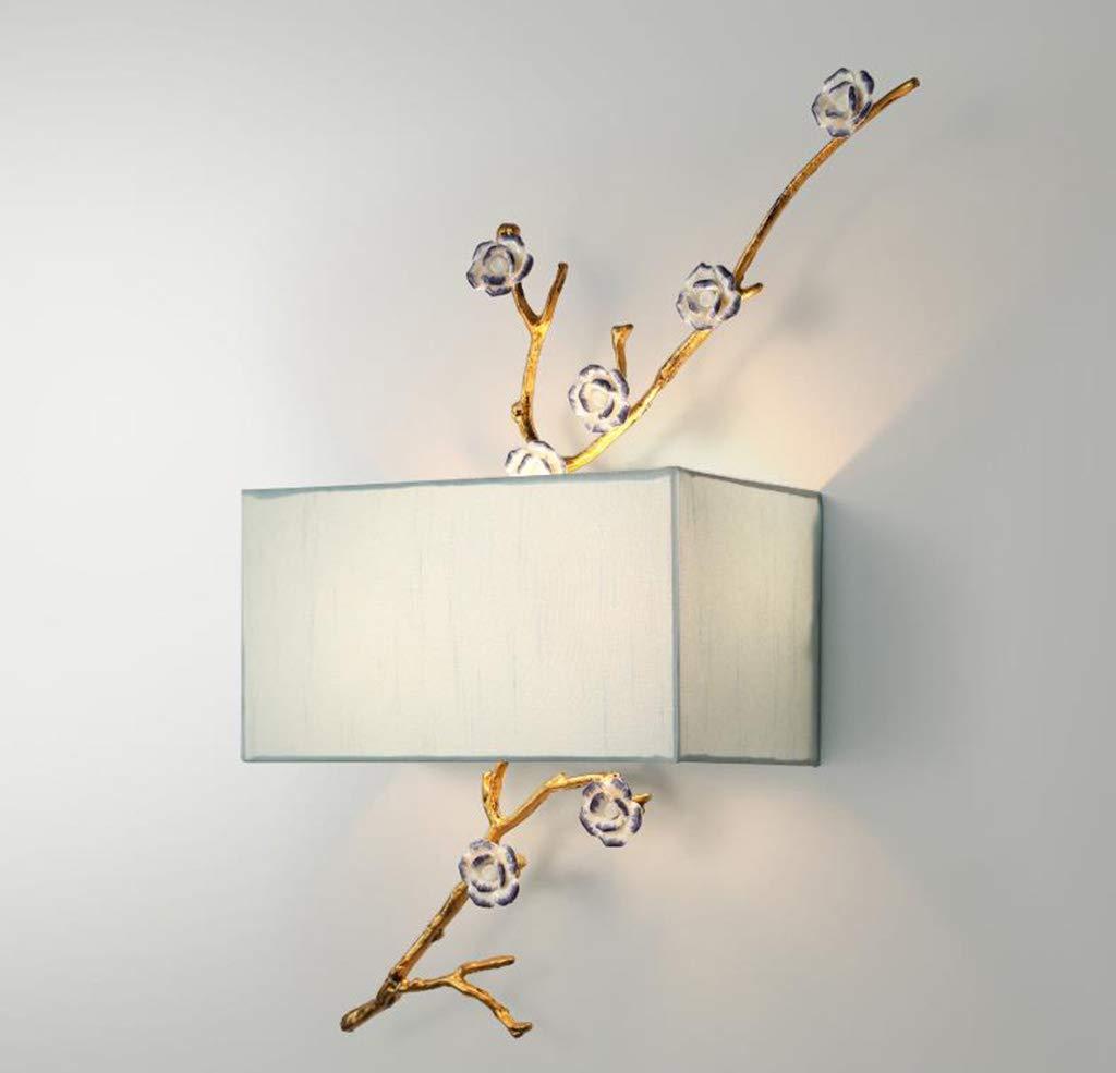 Unbekannt $Wall lamp Light Wandleuchte Modern Stoff E27 Wohnzimmer Schlafzimmer Arbeitszimmer Kinderzimmer Wandleuchte Wanddekoration Lichter