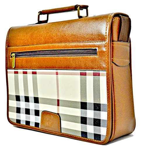 Price comparison product image Elegant Brown Messenger Bag with Practical/Stylish design
