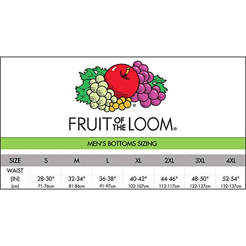 Fruit of the Loom Men's Elastic Bottom Sweatpants (M, Steel Grey)