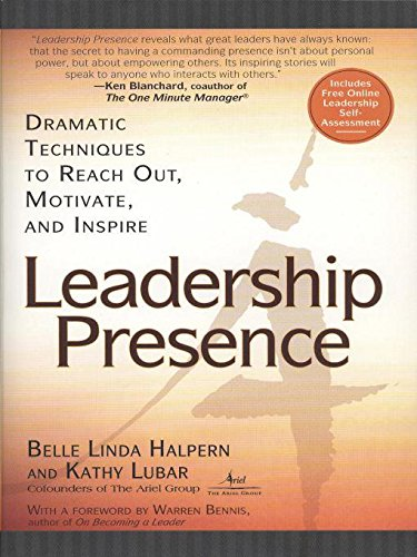 Amazon leadership presence ebook kathy lubar belle linda leadership presence by lubar kathy halpern belle linda fandeluxe Image collections
