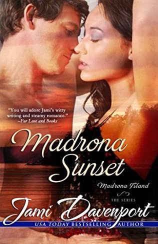book cover of Madrona Sunset