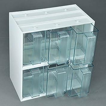 Küchenschütte 6er schüttenbox küchenschütte grüntransparent amazon de küche