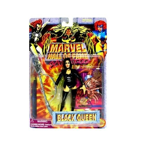 Marvel Hall of Fame She-Force Black Queen Action Figure by - Of Fame Hall Marvel