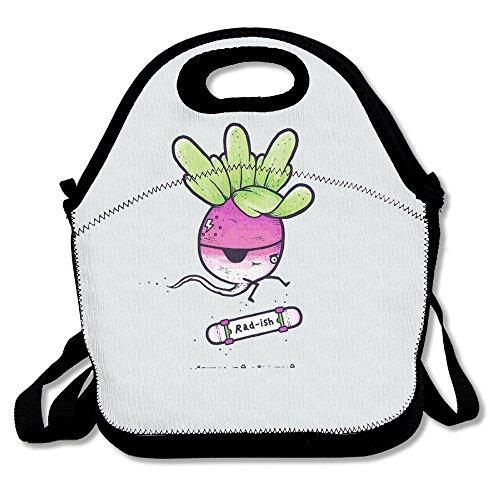 2017 Best Reusable Insulated Storage Bento Bag (Skateboard Color Cute (Cute Halloween Bento)