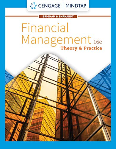 MindTap for Brigham/Ehrhardt's Financial Management: Theory & Practice, 16th Edition [Online Code] by Cengage Learning