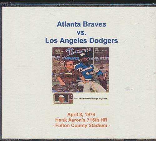 Atlanta Stadium Fulton (Vin Scully Announces the Atlanta Braves vs. The Los Angeles Dodgers Baseball Game at Fulton county Stadium on April 8,1974 Hank Aaron's 715th Home Run Game)