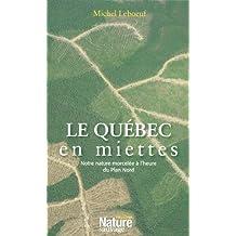 Le Québec en miettes: Notre nature morcelée à l'heure du Plan Nord