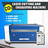 180W Reci W8 CO2 Laser Engraver Cutter Machine with S&A Water Chiller CW5200 Laser Engraving Machine Laser Cutter 1300x900mm