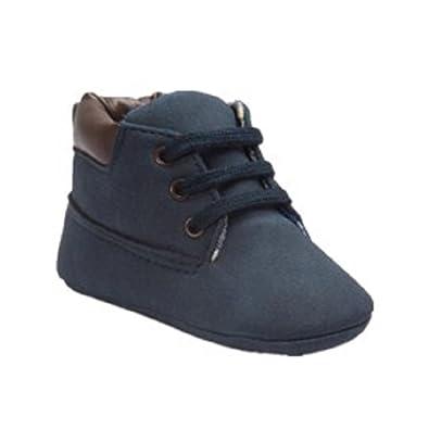 bas prix 2b382 32088 🐳LuckyGirls Chaussures Fond Souple Antidérapant de Bébé Unisexe Bébé Suède  Chaussons en Cuir Doux Chaussures Bébé Mokassin chausseres Premiers Pas -  ...