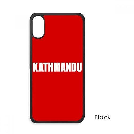 Amazon com: Kathmandu Nepal City Name iPhone XS Cases iPhonecase