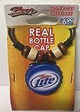 Miller Lite Bottle Cap Necklace