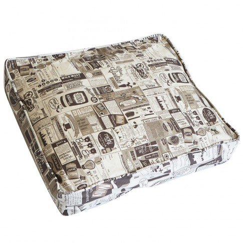 Brown Mediummolly mutt Daysleeper Dog Bed Duvet Cover, Huge  100% Cotton, Durable, Washable
