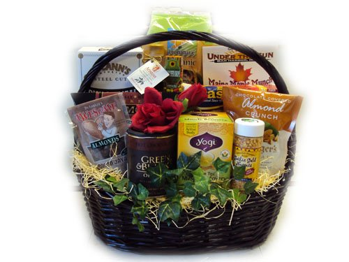 Heart-Healthy Extra Love Valentine's Day Basket by Well Baskets