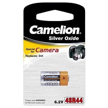 CAMELION 6V SILVER OXIDE 4SR44 DIGITAL CAMERA BATTERY