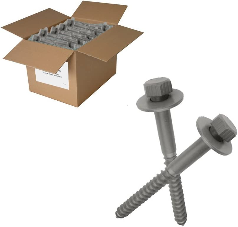 150 pc 3//8x5 Lag Bolts with washers